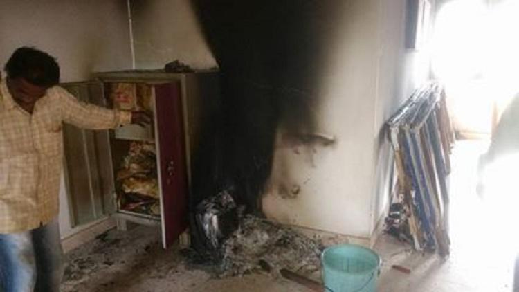 CPI M office in Mangaluru set ablaze by miscreants ahead of Pinarayis visit to Karnataka