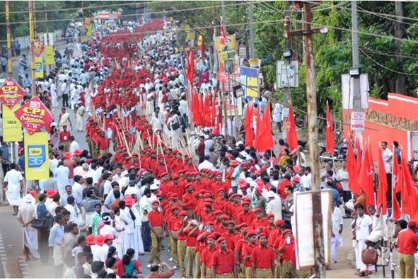 CPI youth wing suspended for supporting RSS processions
