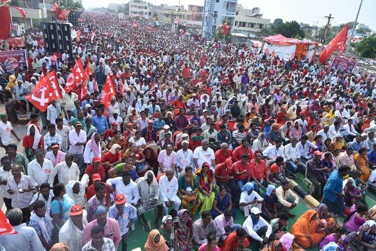 Left parties hold pre-poll meet in AP pledge to fight against Modi and Naidu