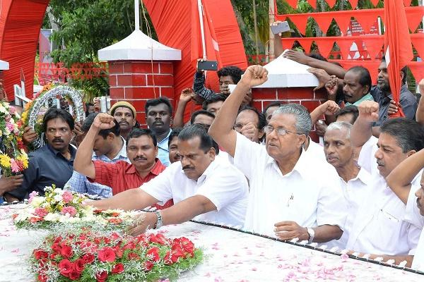 Three of Keralas 19 LDF ministers take oath in gods name