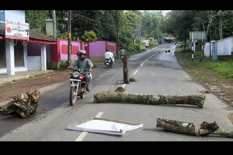 BJP generously contributes to hartals in Kerala organises its 5th hartal in 3 months