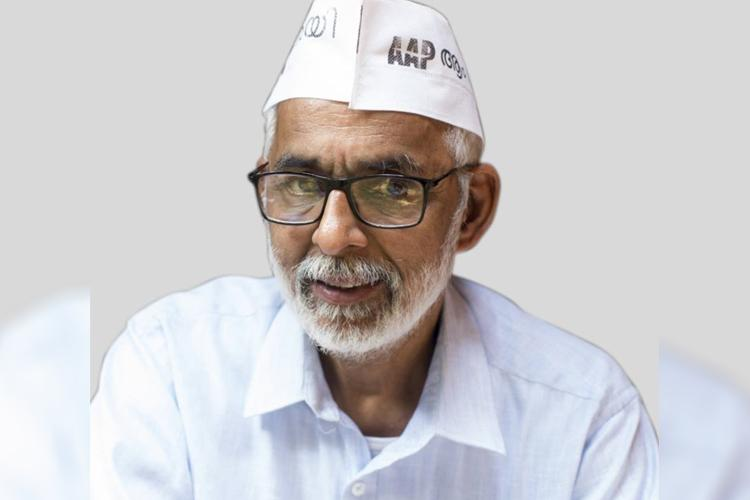 AAP suspends state Party Convener CR Neelakandan for supporting Congress in Kerala