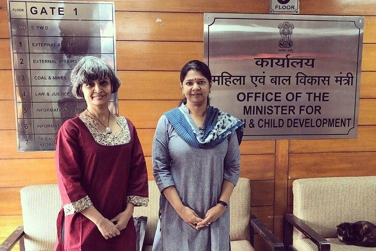 Let adult survivors of child sexual abuse report crime Woman takes fight to Maneka