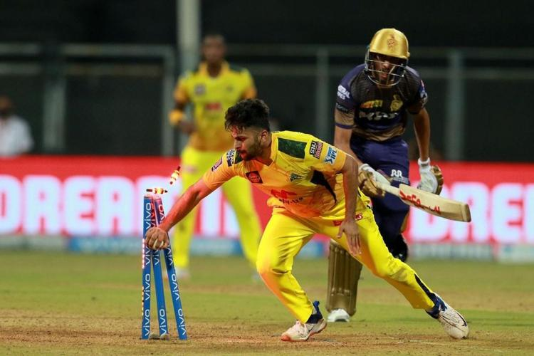 CSK vs KKR at Wankhede Stadium