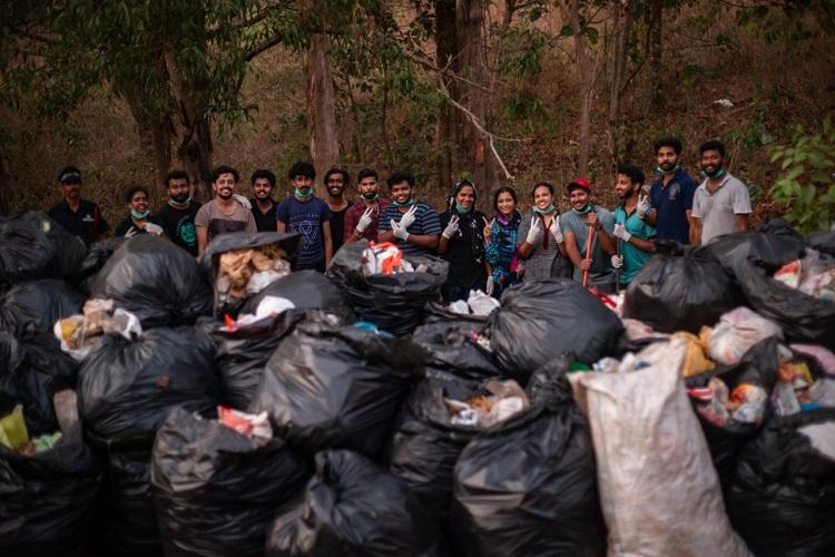 CUSAT students in Kerala take up #Trashtag challenge to