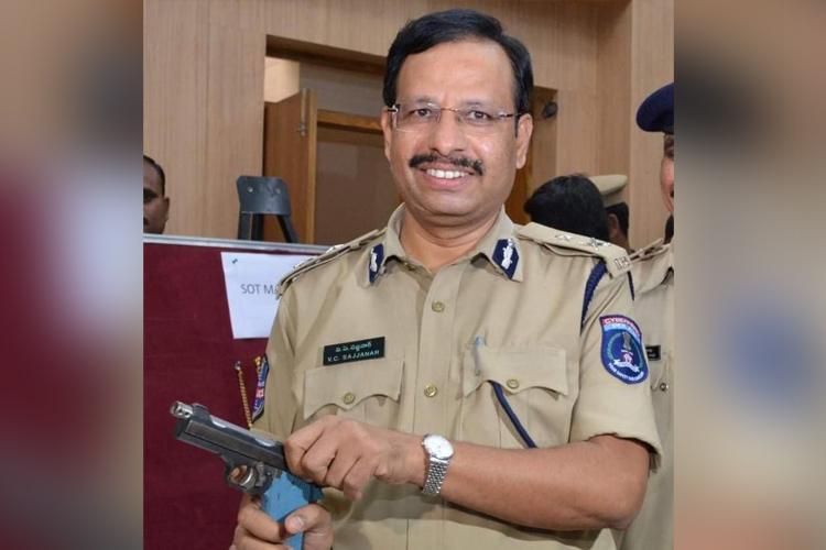 Hyd vet rape case Top cop Sajjanar had led a similar encounter in Warangal in 2008