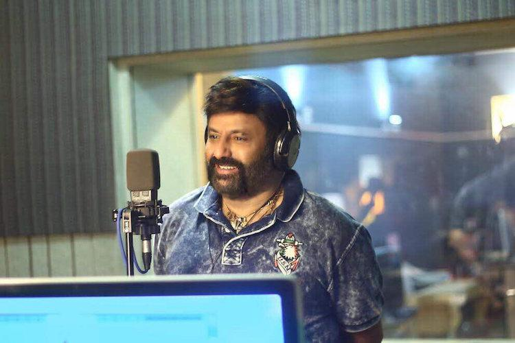 Balakrishna croons number for his upcoming film