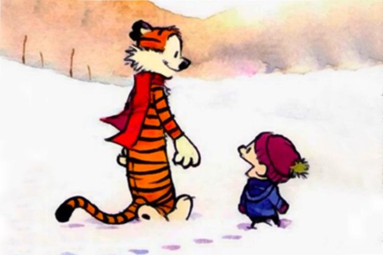 Reality continues to ruin my life Calvin and Hobbes celebrates 33 years of witticisms