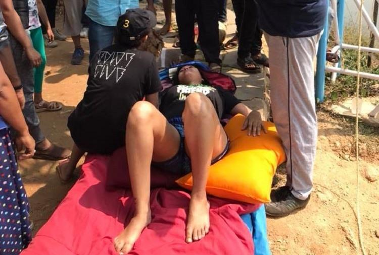 Bluru woman hurts spine after falling at adventure camp Organisers deny negligence