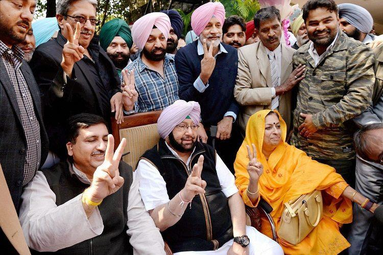 As Congress wins Punjab Assembly polls 10 sitting SAD-BJP ministers ousted