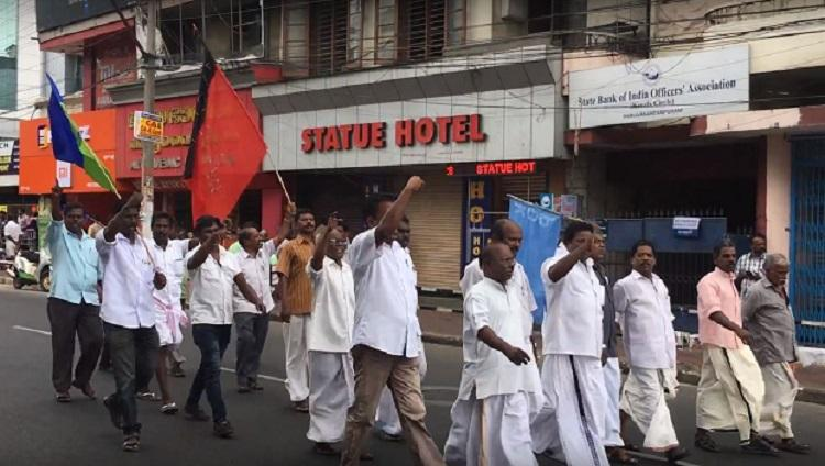 No thanks Kerala Dalit activists reject support from mainstream parties for hartal