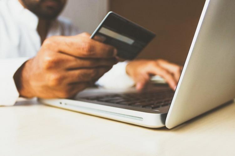 Online payment through card