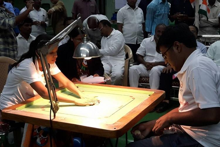 Two youngsters create Guinness World Record for Longest Marathon Carrom Playing in AP