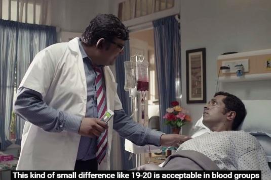 Lets not add to the myths around blood donation like this commercial did