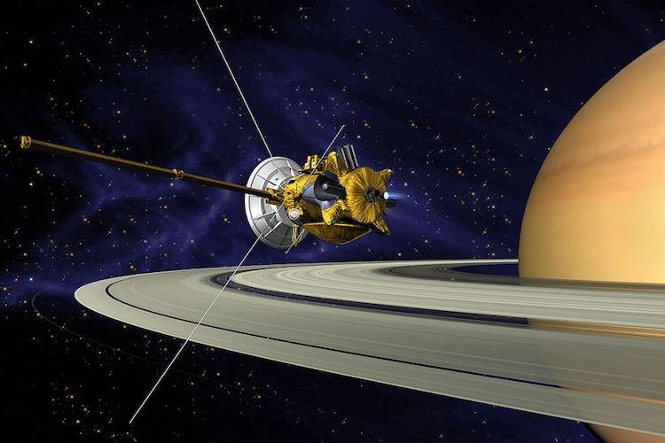 NASAs Cassini spacecraft ends historic 13-year Saturn mission plunges into planet