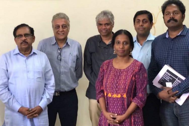 Bluru elevated corridor Activists meet Deputy CM pitch for sustainable alternatives