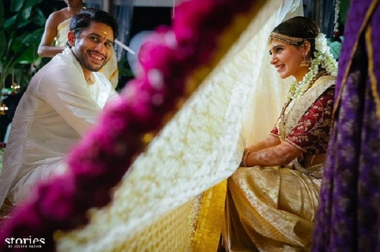 Samantha is now Naga Chaitanya's better half