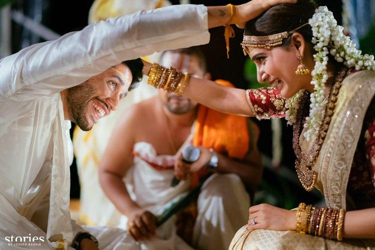 The ChaiSam wedding in pictures Actors Naga Chaitanya and Samantha tie the knot
