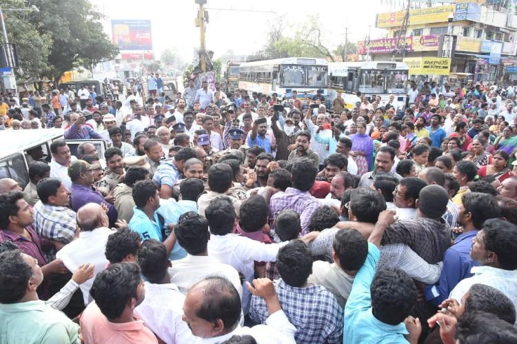 Amaravati row Police crackdown on Chalo Assembly protesters and TDP leaders
