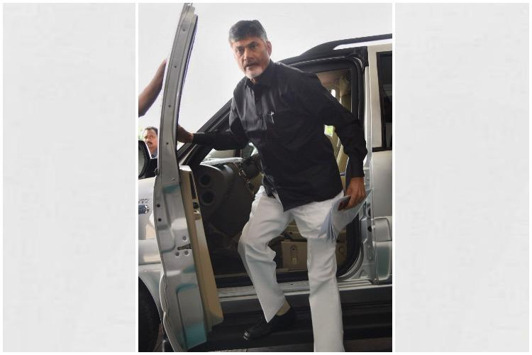 Andhra CM Naidu TDP MLAs turn up in black at Assembly to protest against Centre