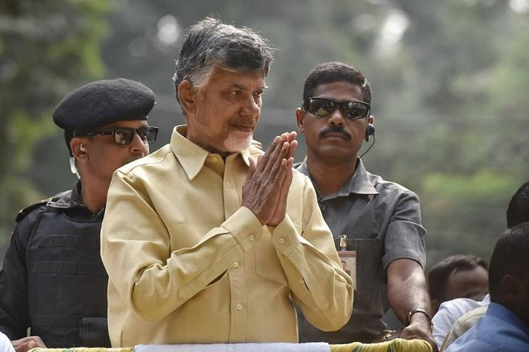 AP CM Naidu to stage one-day protest in Delhi during Budget session