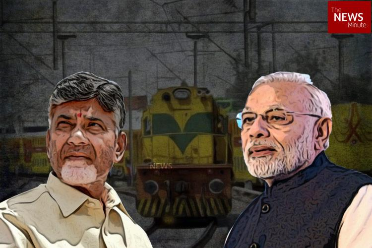 Bifurcation of Waltair division Will Vizag railway zone granted by Centre help AP
