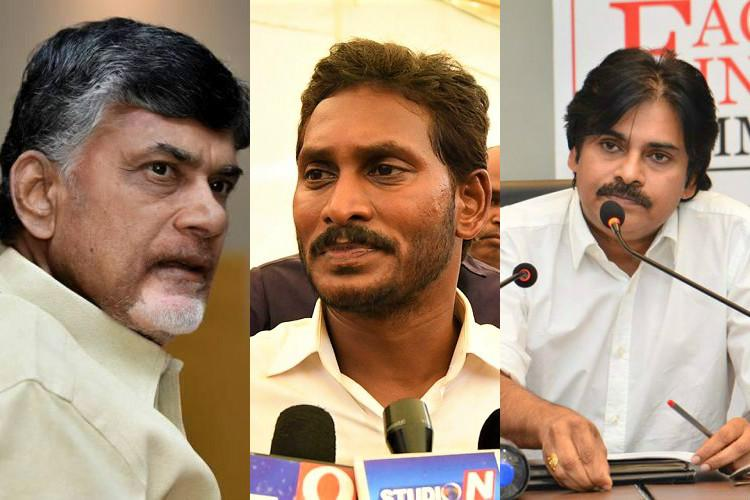 Image result for chandrababu-pavan-jagan