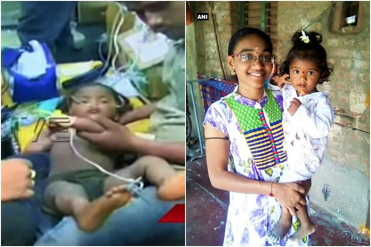 Two-year-old boy who fell into Andhra borewell saved after overnight rescue operation