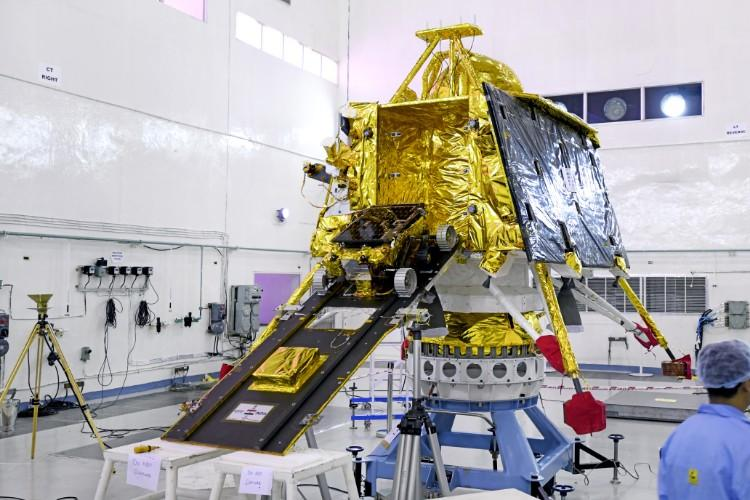 New launch date for Indias Moon mission Chandrayaan-2