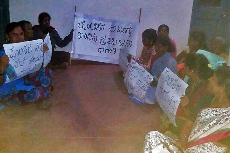 They ignore our complaints abuse us Channapatna women protest police apathy
