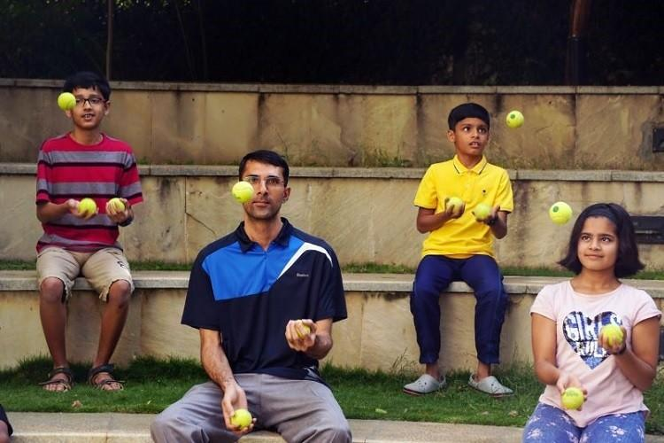 Juggling for fitness This Bengaluru group is making exercise fun for adults and kids