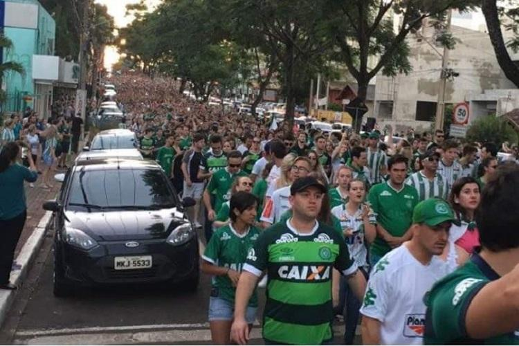 Crashed Chapecoense soccer team jet out of fuel moments before crash