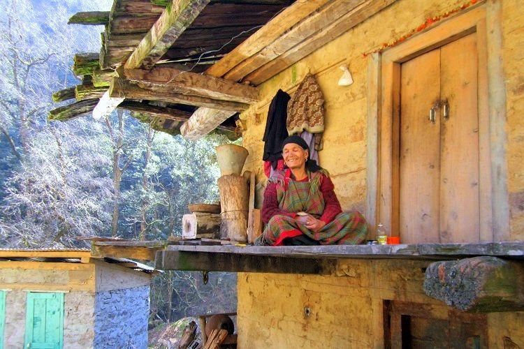 Meet Chatri Devi the lone human living in a wildlife park on the Himalayas
