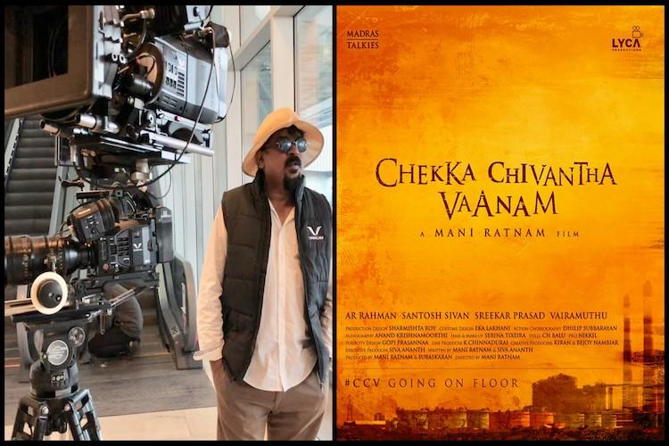 Santosh Sivan shares pictures from the sets of Chekka Chivantha Vaanam
