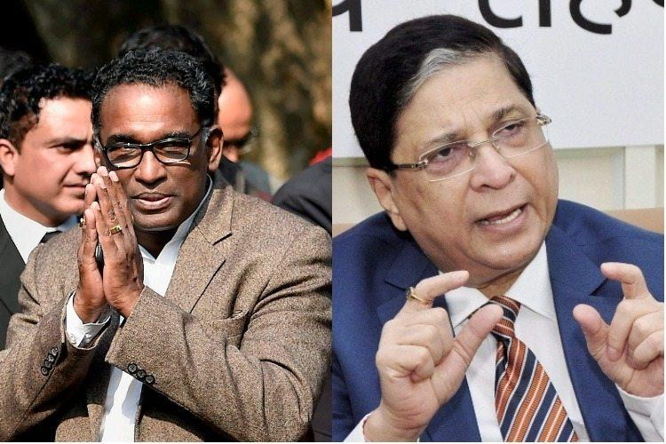 Justice Chelameswar writes to CJI flagging bonhomie between judiciary and government
