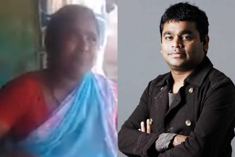 Watch Andhra woman sings O Cheliya impresses AR Rahman