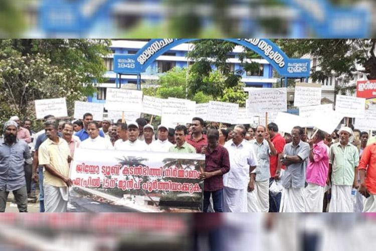 Kerala coastal village residents to intensify protests if seawall isnt constructed