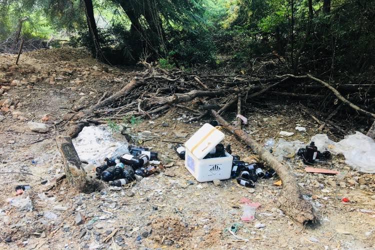 IIT Madras Detail: Lab Waste Dumped In IIT Madras Campus Allege Activists