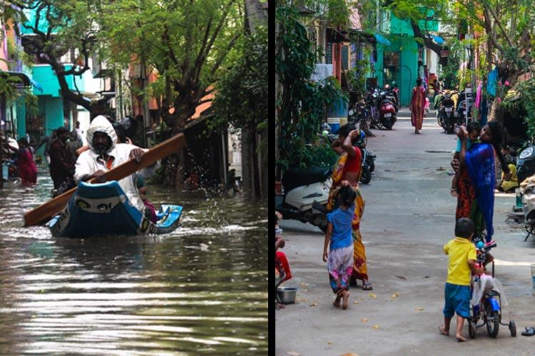 Photologue Revisiting spots devastated by the Chennai floods one year later