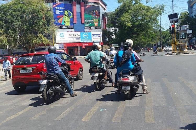 Chennai cops crack down on traffic violators book 90000 in a single day