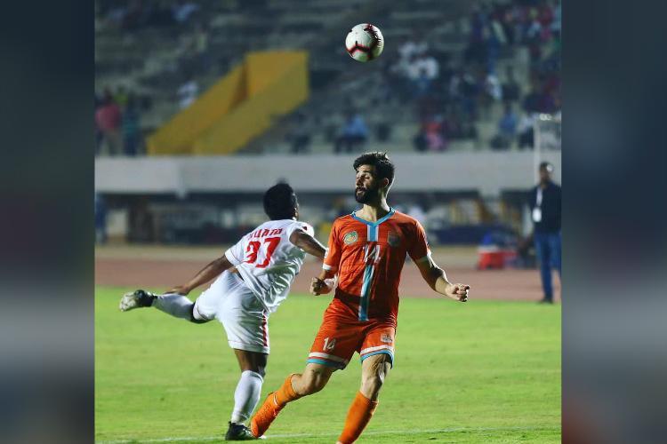 Chennai City beat Aizawl 4-3 inch closer to I-League title
