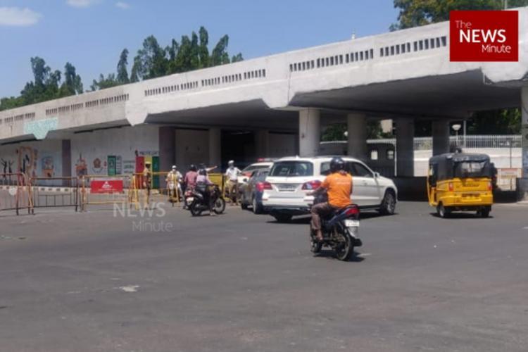 Chennai Gemini flyover during lockdown