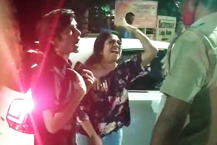 Chennai woman booked for abusing cops after being caught for drinking and driving
