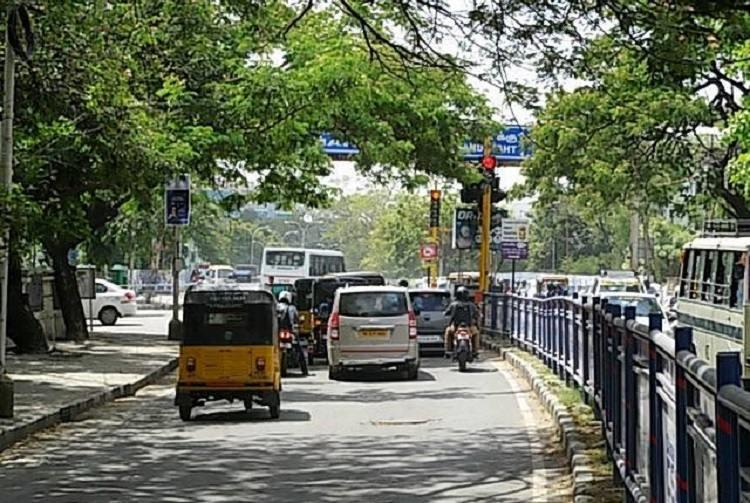 For riding bike without license Chennai teen made to man traffic as punishment