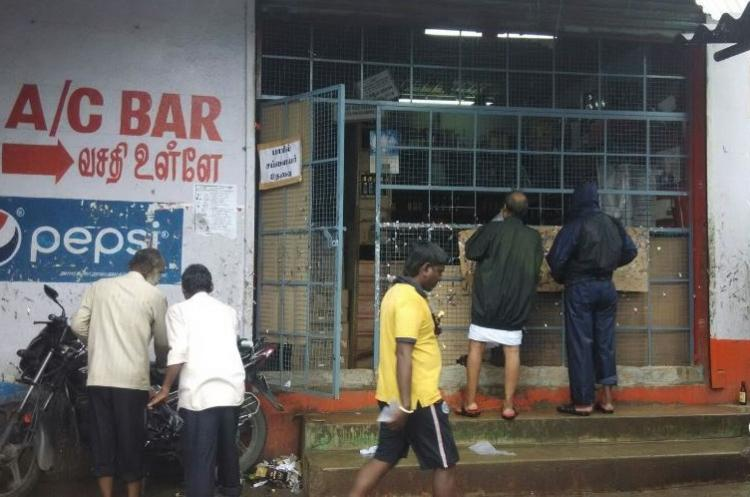 Consider shutting bars attached to TASMAC shops Madras HC to state government
