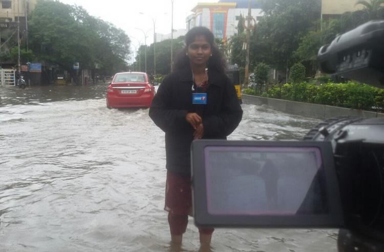 Going beyond the call of duty The lesson I learnt covering the 2015 Chennai floods