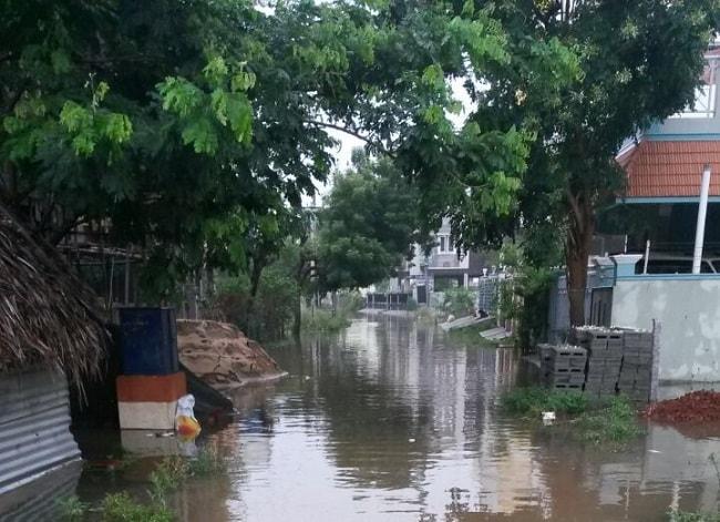 Rains lash TN for 48 hours Schools shut in Chennai 4 dead across state