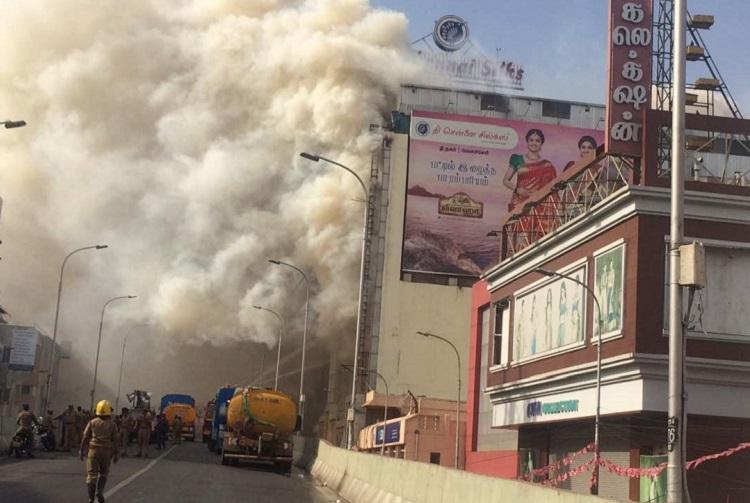 Tinderbox T-Nagar The Chennai Silks fire was a disaster waiting to happen