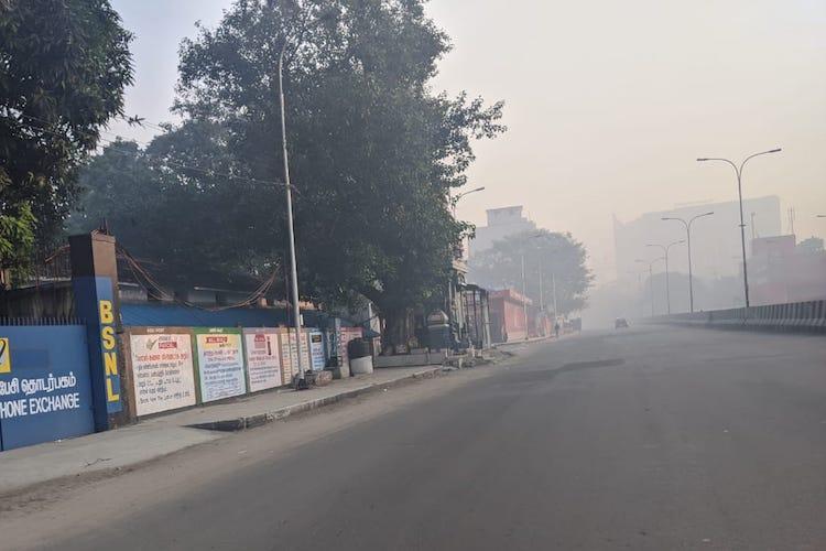 Chennai air quality dips as Bhogi celebrations underway