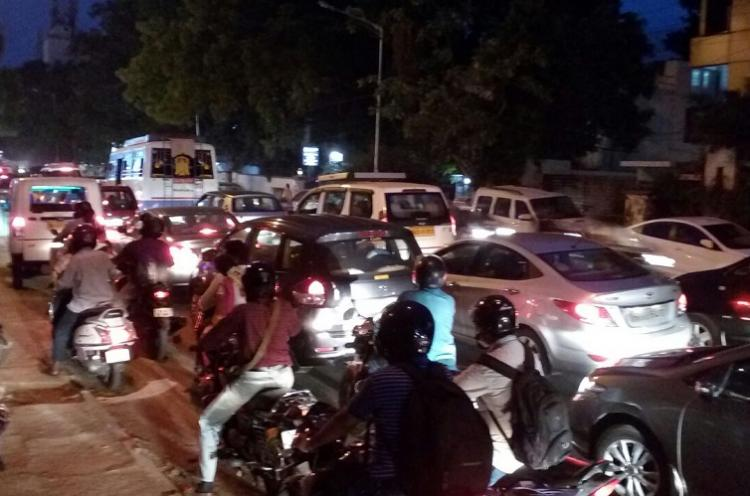 Is Chennais traffic going from bad to worse